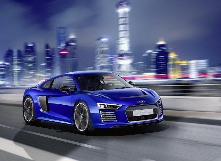 Audi's R* e-tron driverless car