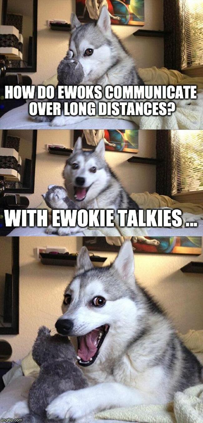 Ewokie Talkies