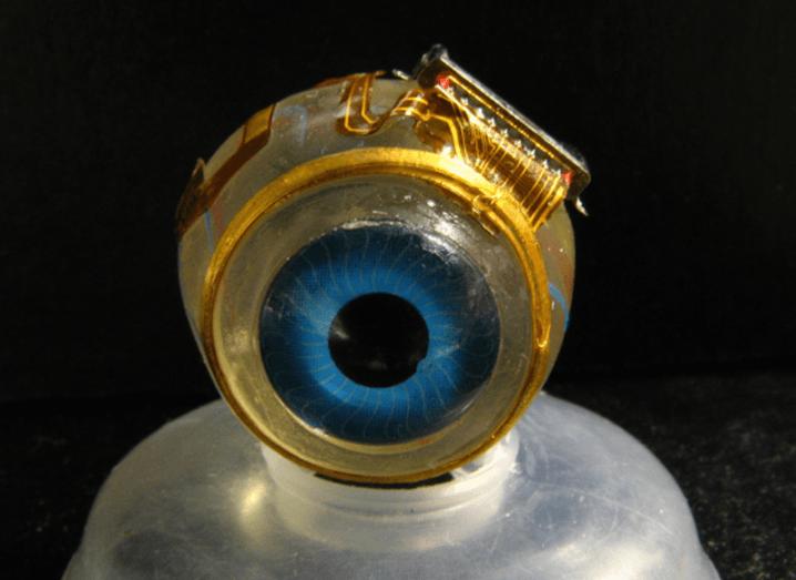 Bionic eyeball
