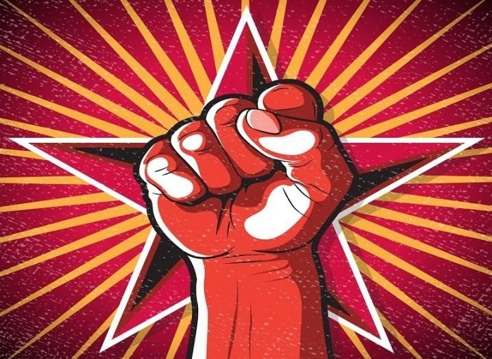 Communist fist