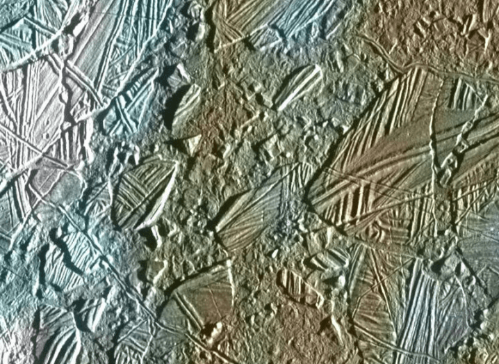 Connemara coastline on Jupiter's Europa