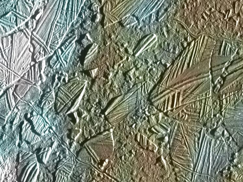 Amazing pic of Connemara's coastline on Jupiter's Europa moon