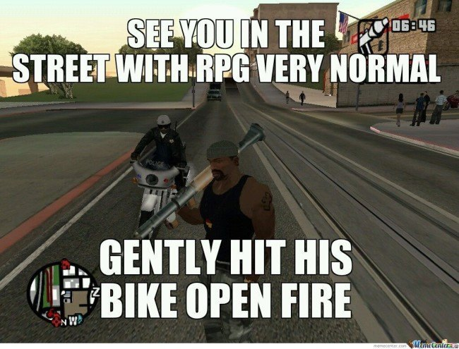 GTA open carry