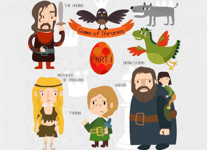 Game of Thrones graphic