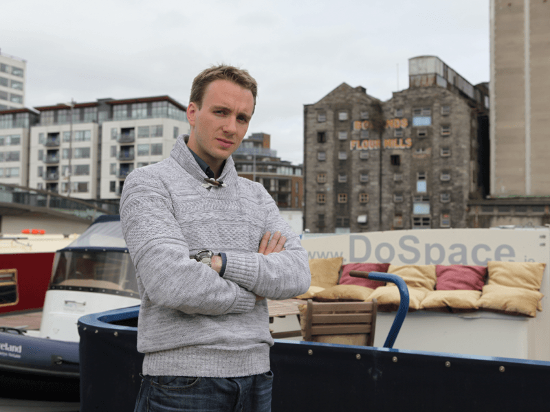 Floating start-up co-working hub DoSpace opens in Dublin's Silicon Docks (video)
