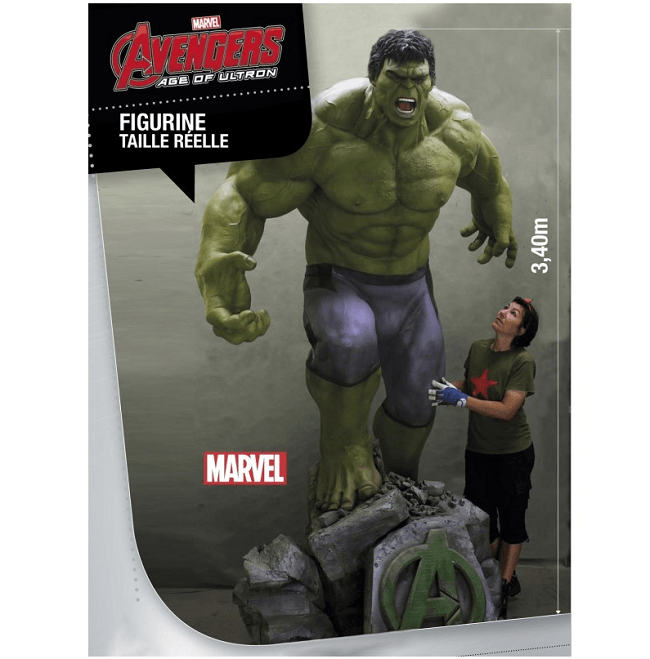 The Hulk Polymark Toys figurine