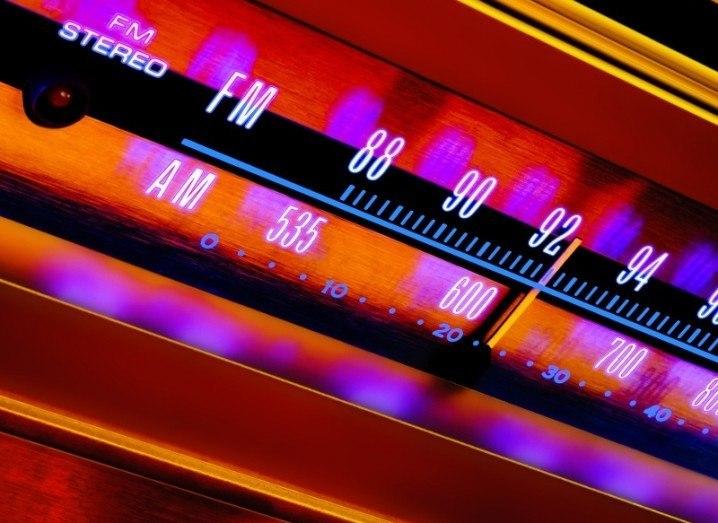 Colourful radio dial