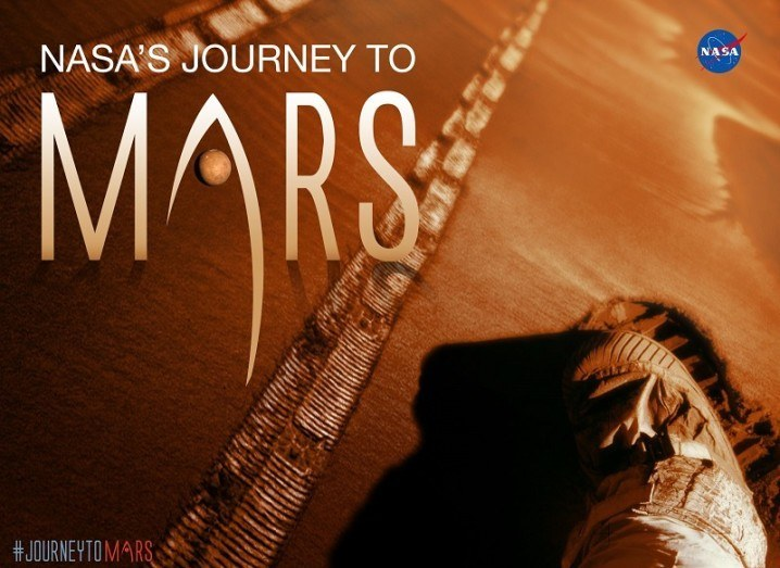 Journey to Mars challenge poster