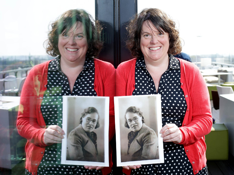 Bletchley Park author Kerry Howard in Dublin to launch Inspirefest 2015 (video)