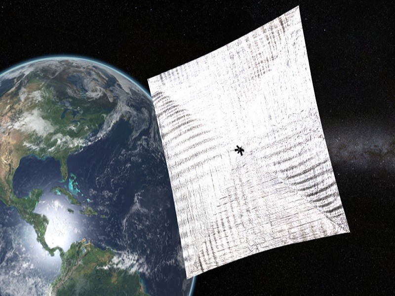 LightSail solar satellite finally rolls onto launchpad