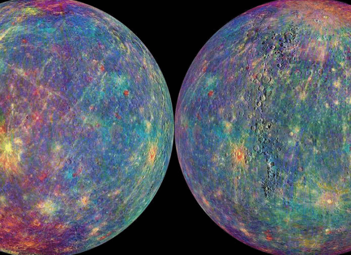 MESSENGER image of Mercury's surface
