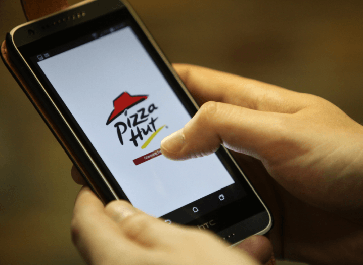 Pizza hut app rescue