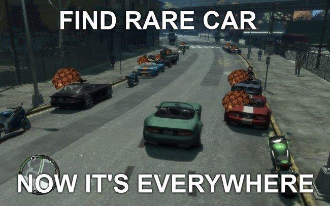 Rare GTA cars
