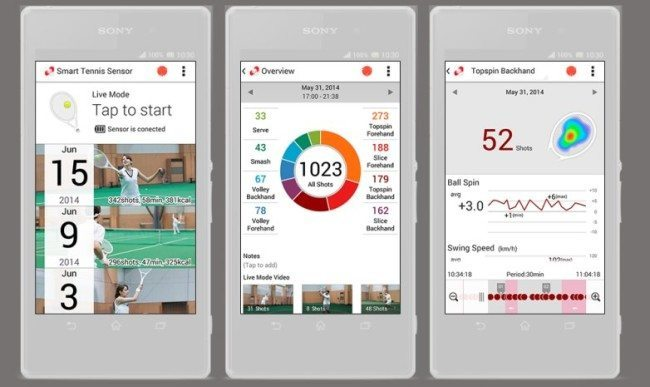 Sony-tennis-app