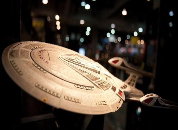 USS enterprise model