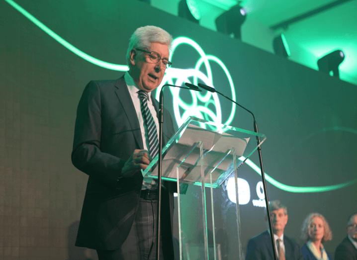 Alex White at SIRO launch