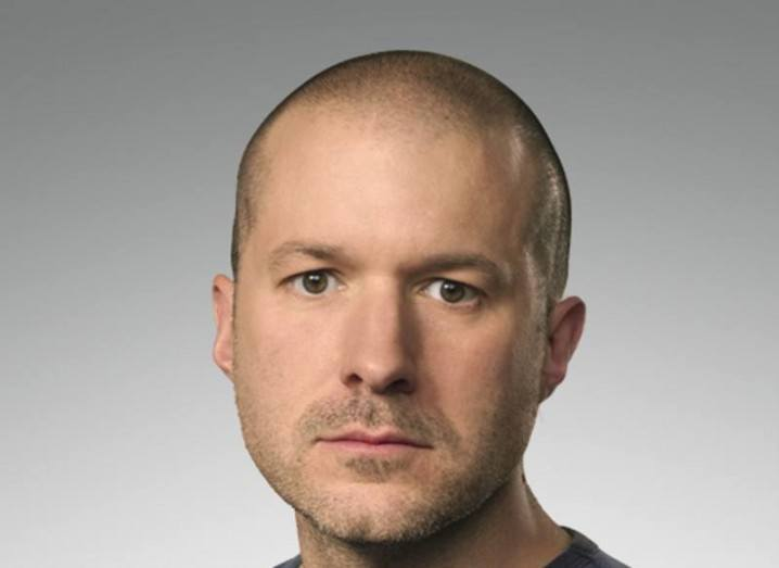 Apple's chief design officer Sir Jony Ive