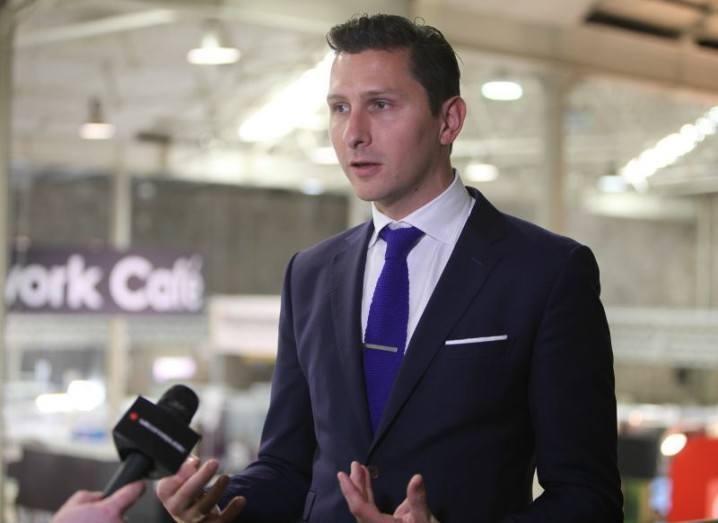 Brian Corish, Vodafone head of digitall