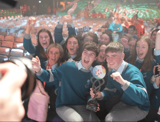 Coláiste Choilm students win top prize at BTYSTE for research on gender stereotyping