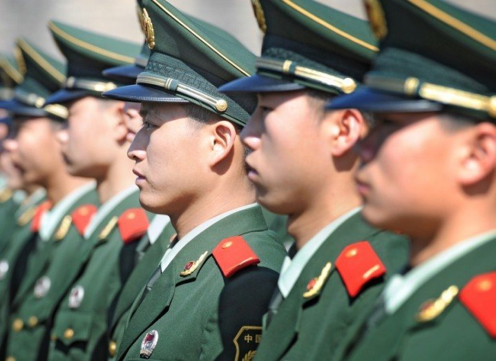 Chinese army wearables ban
