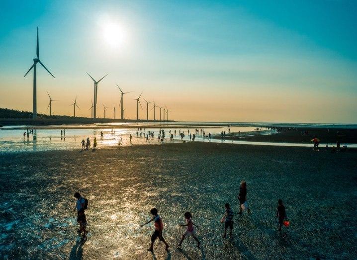 Array of turbines