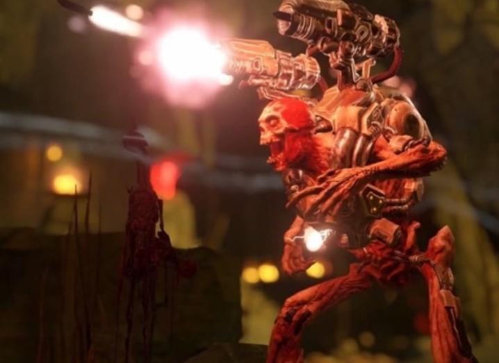 Doom reboot trailer