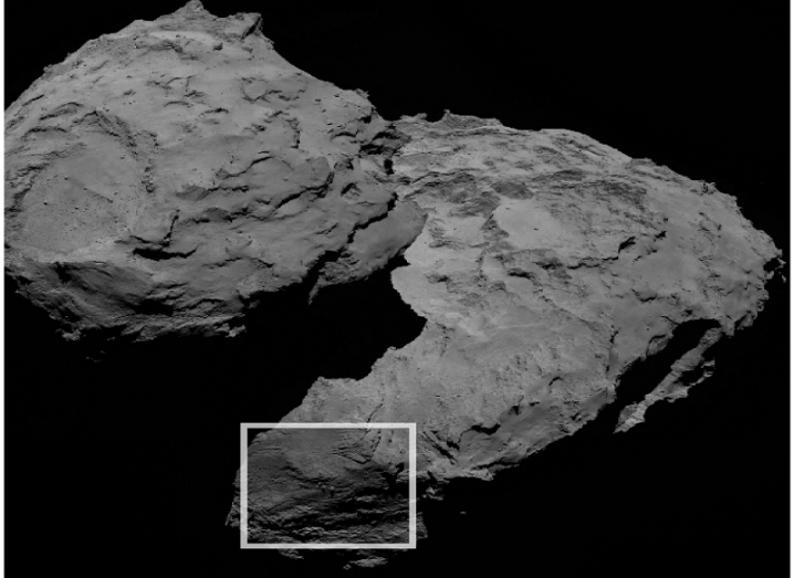 Rosetta boulders