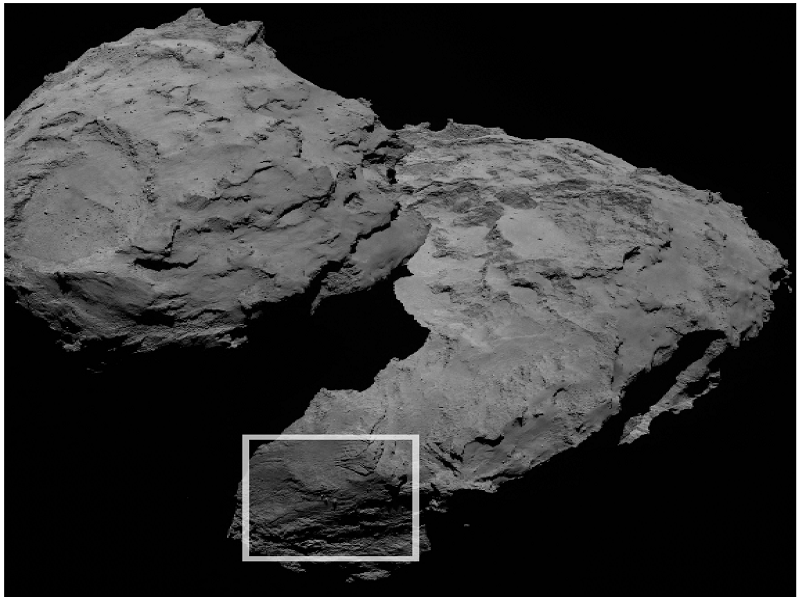 Rosetta finds mysterious boulder formation on surface of Comet 67P