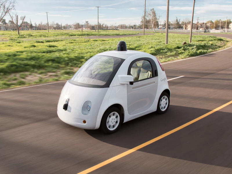Google's self-driving cars get the greenlight to hit the mean streets of Silicon Valley