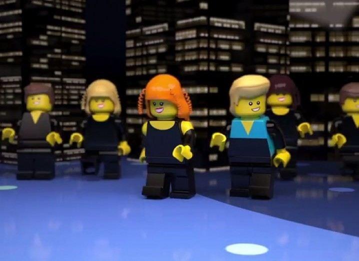Lego Eurovision tribute