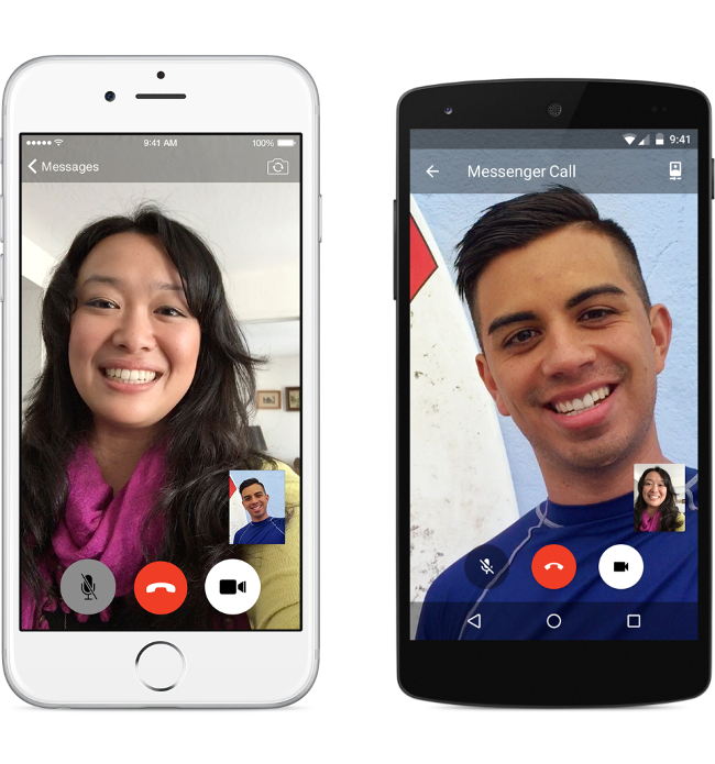 Facebook Video Call on Messenger 2