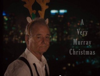Bill Murray to star in Netflix Christmas special A Very Murray Christmas (video)