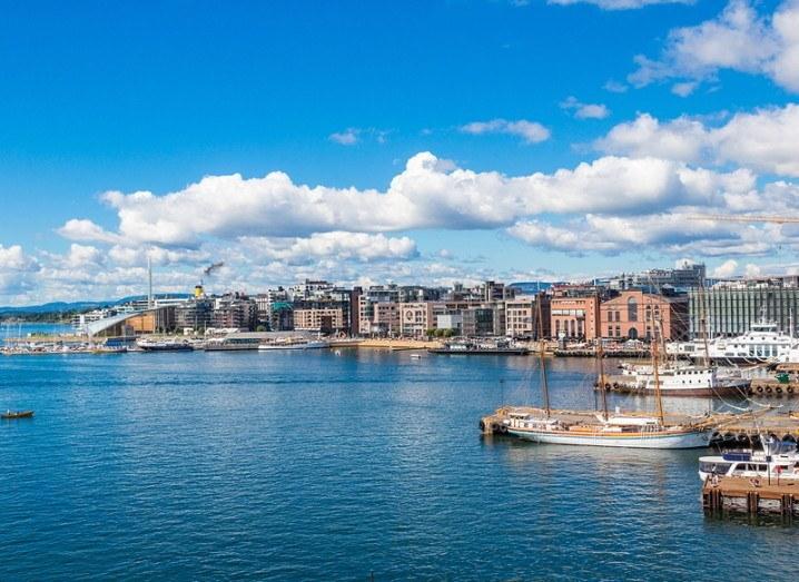Oslo Harbour in Norway