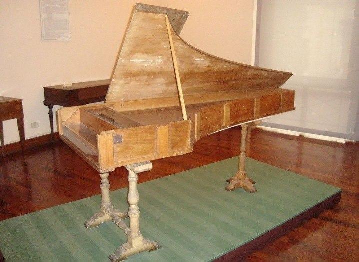Cristofori's 1772 piano