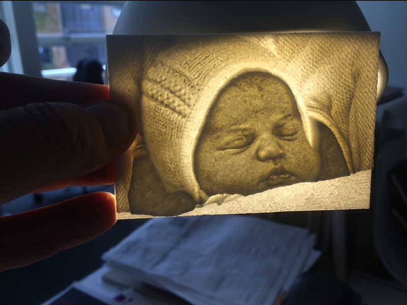 Royal baby fans can 3D print Princess Charlotte … sort of