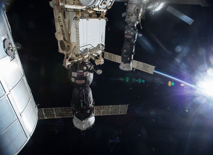 Progress 47 craft docking with the ISS