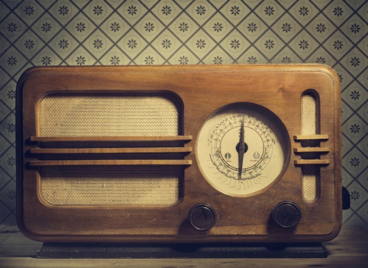 Radio image from Shutterstock