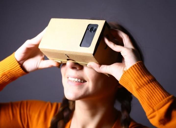 Virtual reality on smartphone