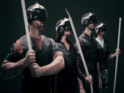 VR theme park makes laser tag look really rubbish – Gigglebit