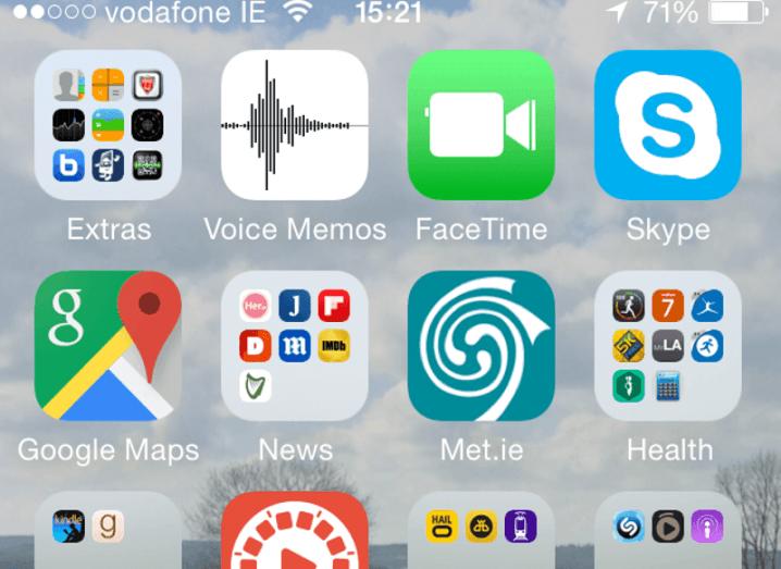 Apple voice memo logo contains easter egg