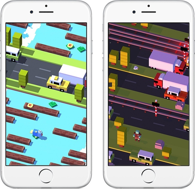Best apps for iOS: Crossy Road