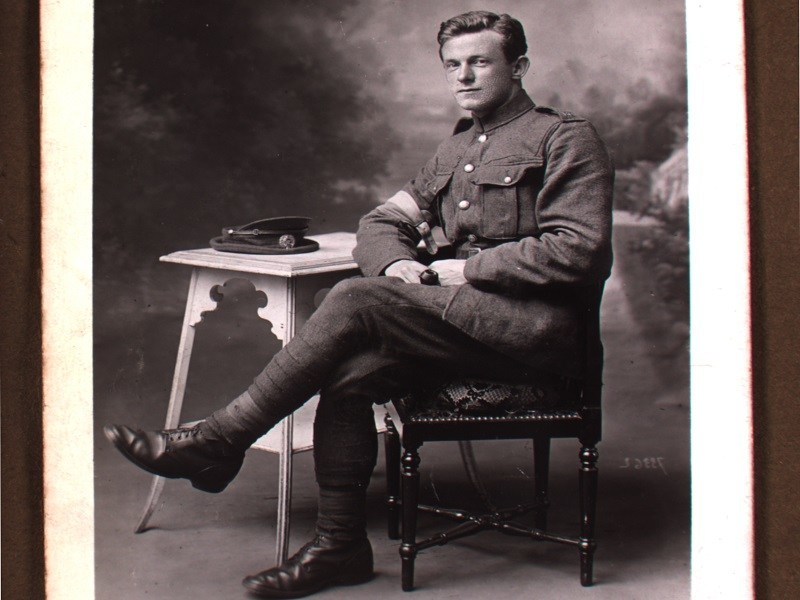 Irish WWI soldier's diary posted online by Maynooth University