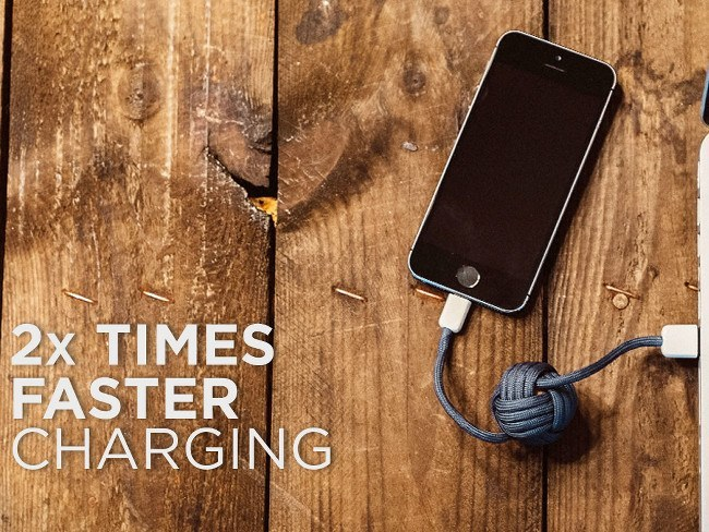 8 cool phone chargers - BOLD Knot