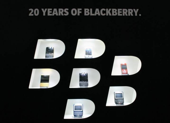 BlackBerry anniversary