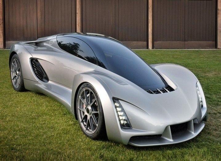 Blade 3D-printed supercar