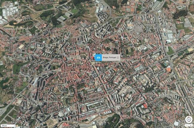 Braga - Apple Flyover Maps