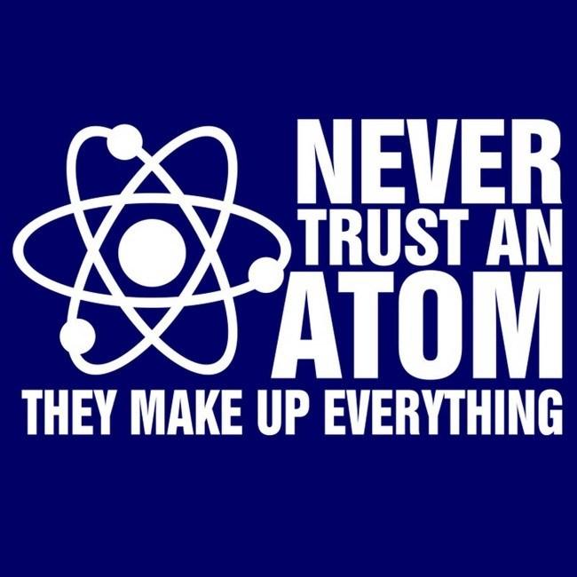 Chemistry meme atom