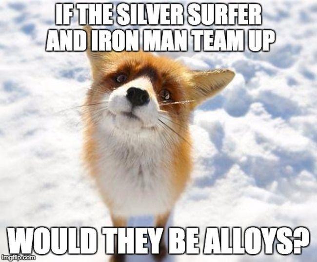 Chemistry meme iron man