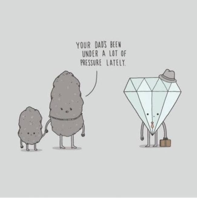 Chemistry meme pressure diamond