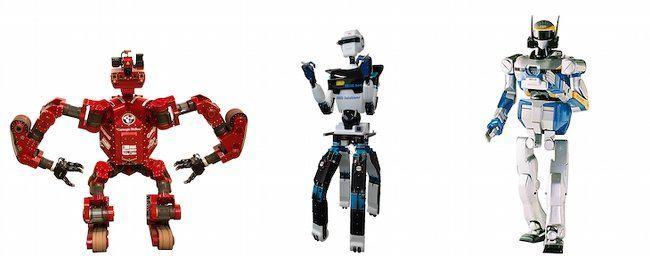DARPA Robotics Challenge, Chimp, Aero and HRP2+